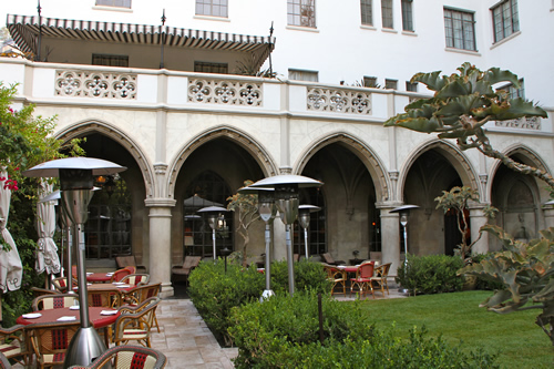Chateau marmont for The terrace restaurant